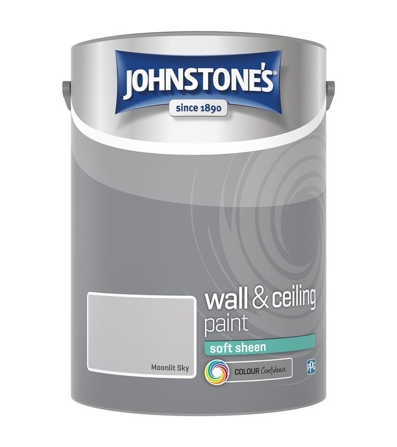 Johnstones Vinyl Emulsion Paint 5L Moonlit Sky (Soft Sheen)