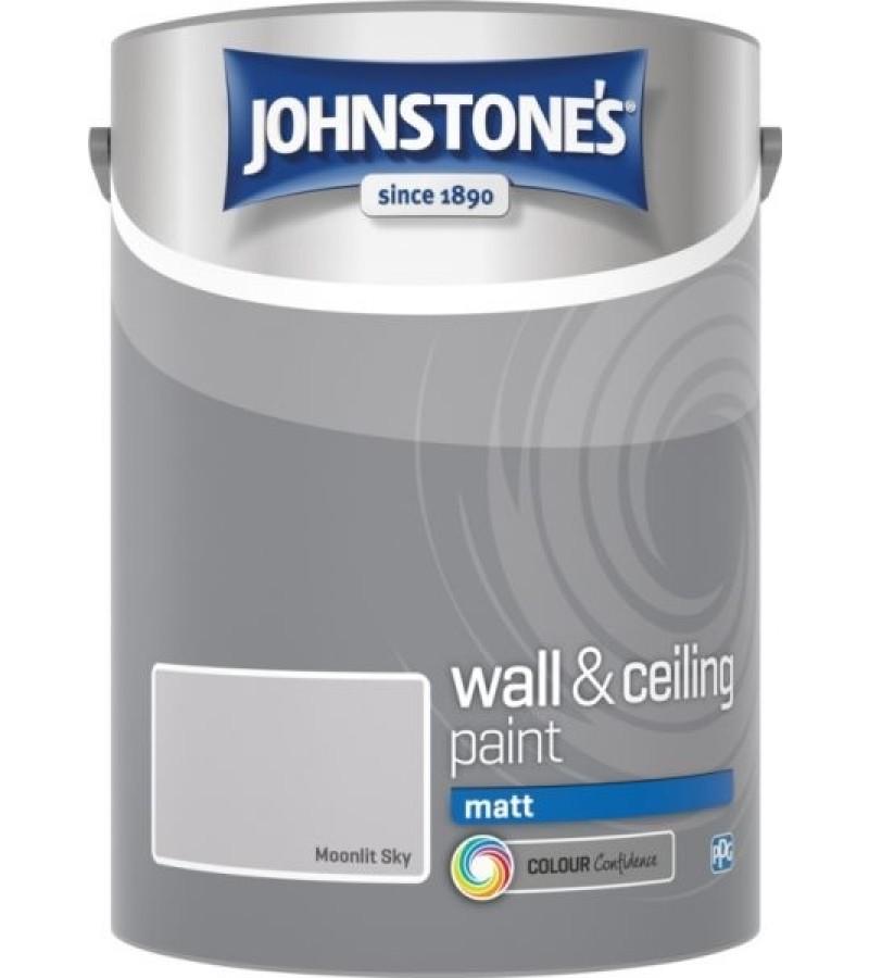 Johnstones Vinyl Emulsion Paint 5L Moonlit Sky Matt
