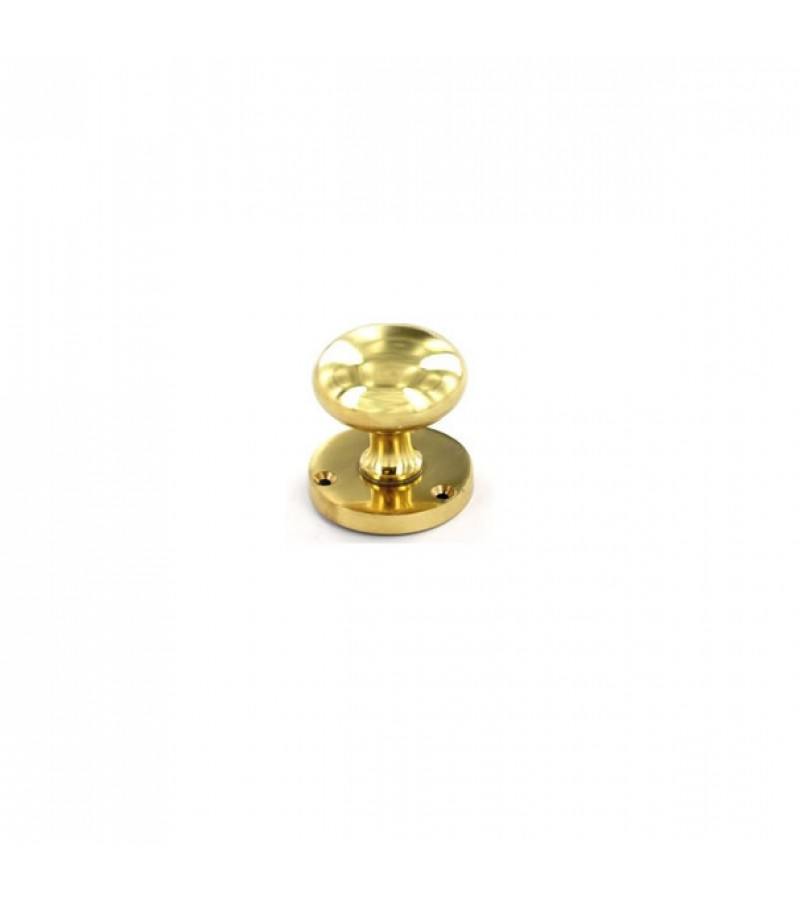 Securit S2218 Victorian Mortice Knob (Brass)