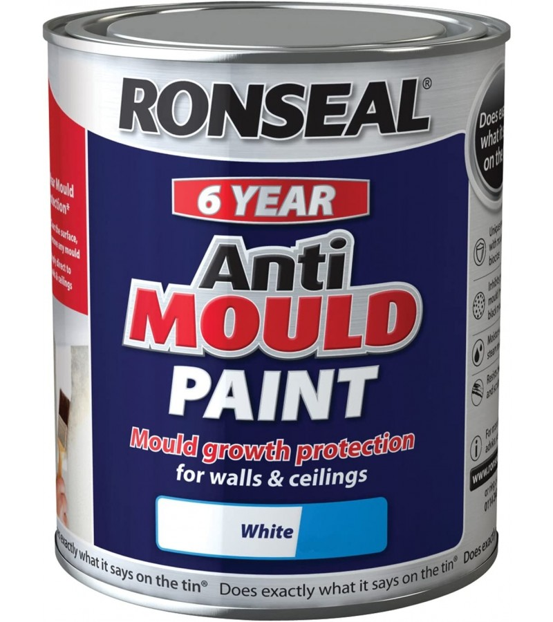 Ronseal Anti-Mould 2.5L White Matt