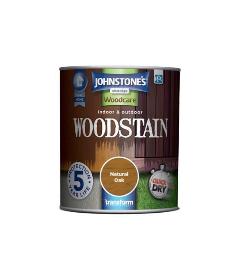 Johnstones Indoor & Outdoor Wood Stain 2.5L Natural Oak