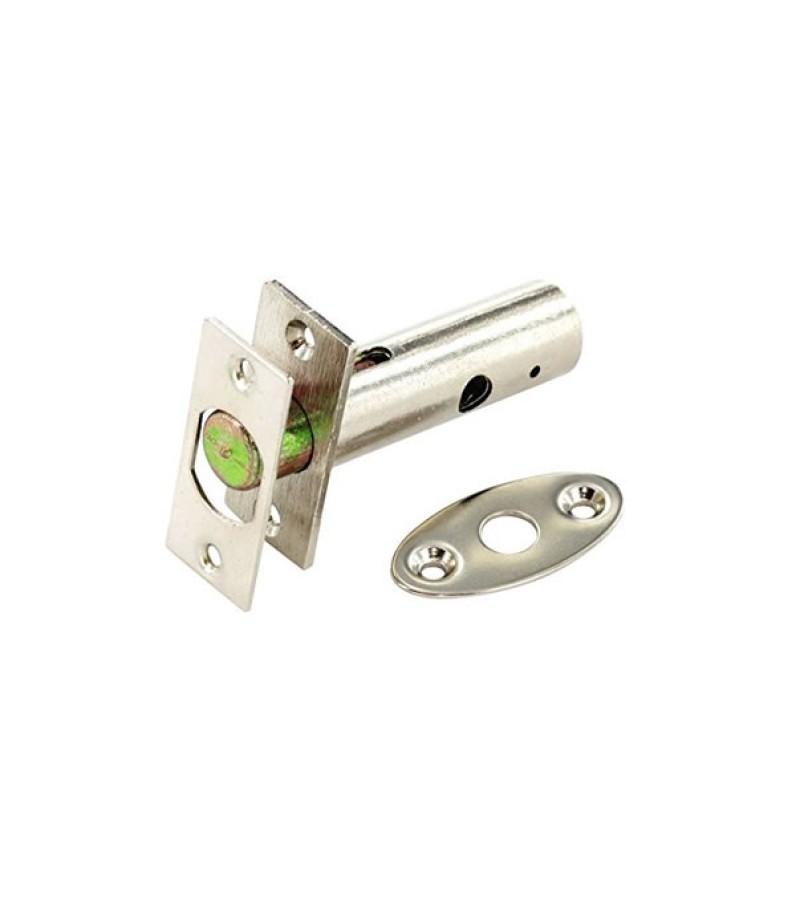 Securit S1068 Nickel Plated Security Door Bolt 55mm