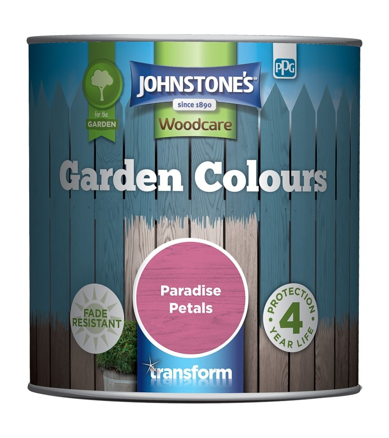 Johnstones Garden Colours Paint 1L Paradise Petals