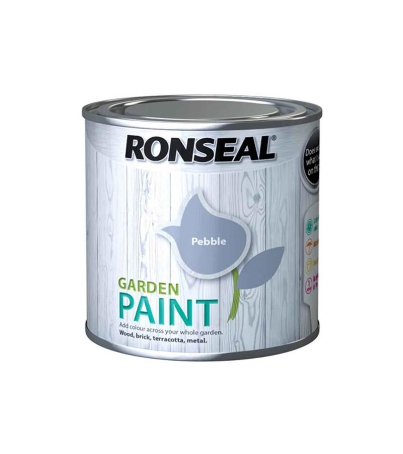 Ronseal Garden Paint 250ml Pebble