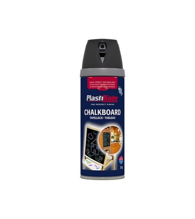PlastiKote Chalkboard Spray Paint 400ml Black