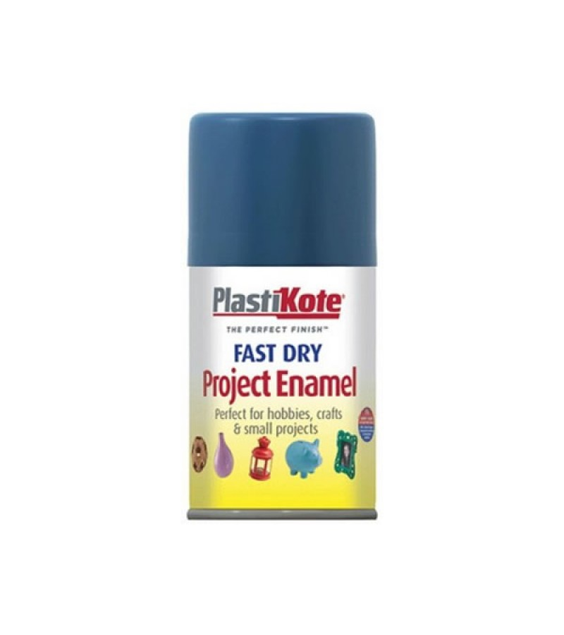 PlastiKote Spray Paint 100ml Harbour Blue Gloss