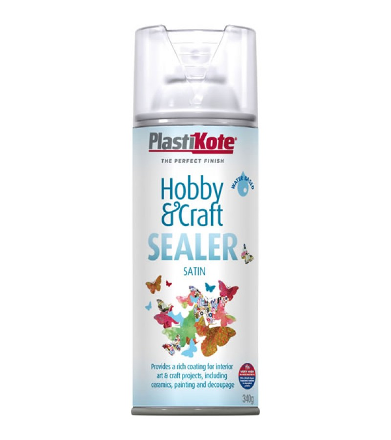PlastiKote Hobby & Craft Sealer Spray 400ml Satin