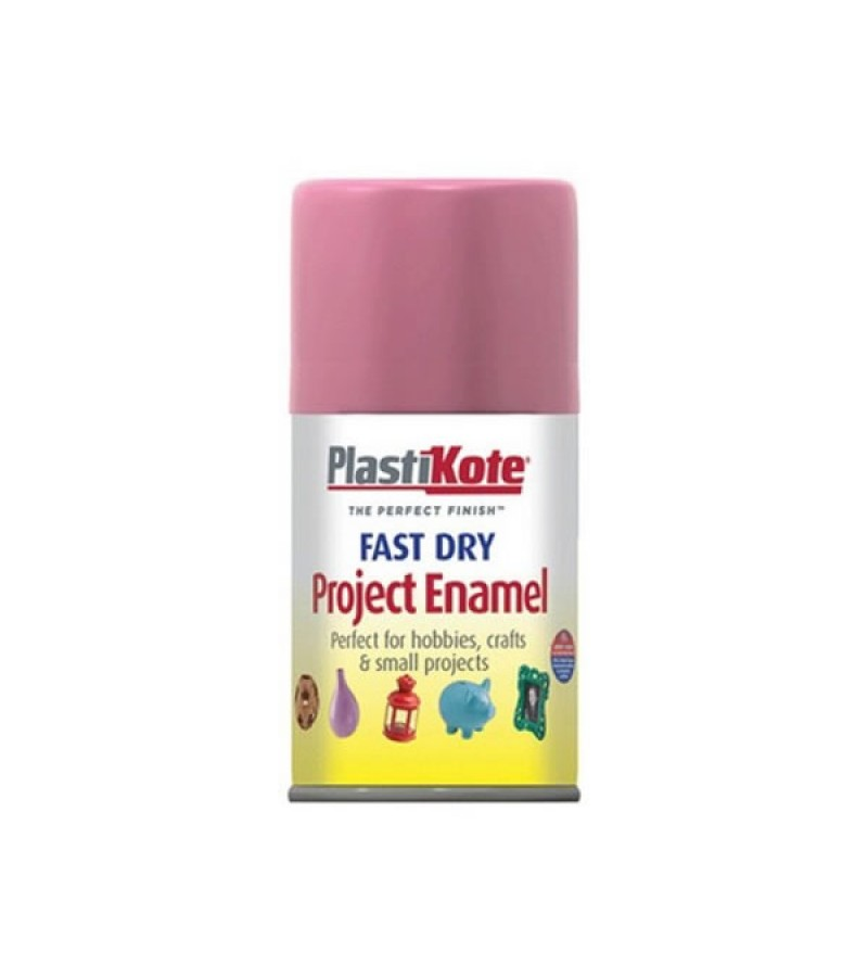 PlastiKote Spray Paint 100ml Hot Pink Gloss