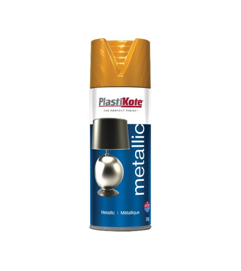 PlastiKote Spray Paint 400ml Metallic Copper