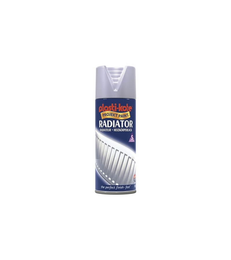 PlastiKote Radiator Spray Paint 400ml Chrome Satin