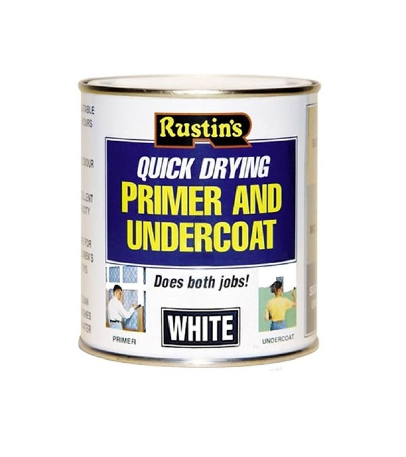 Rustins Quick Dry Primer & Undercoat 1L White