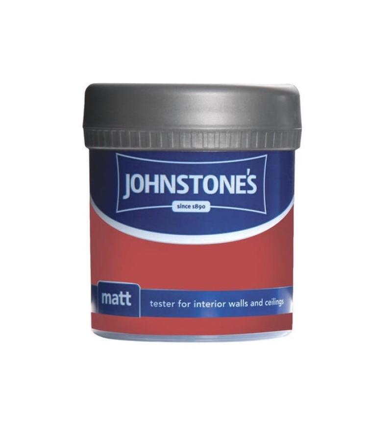 Johnstones Vinyl Emulsion Tester Pot 75ml Rich Red (Matt)