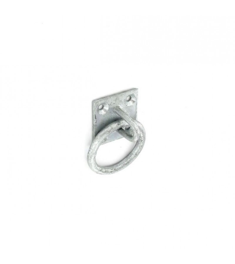 Securit S4792 Galvanised Ring On Plate 50mm