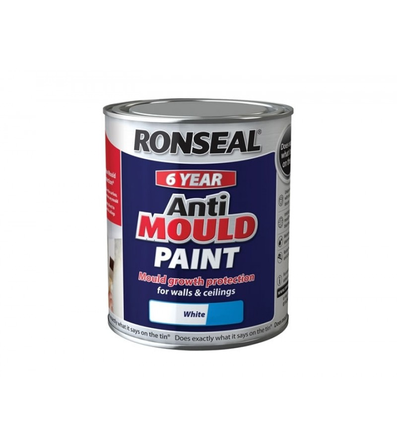 Ronseal Anti-Mould 750ml White Silk