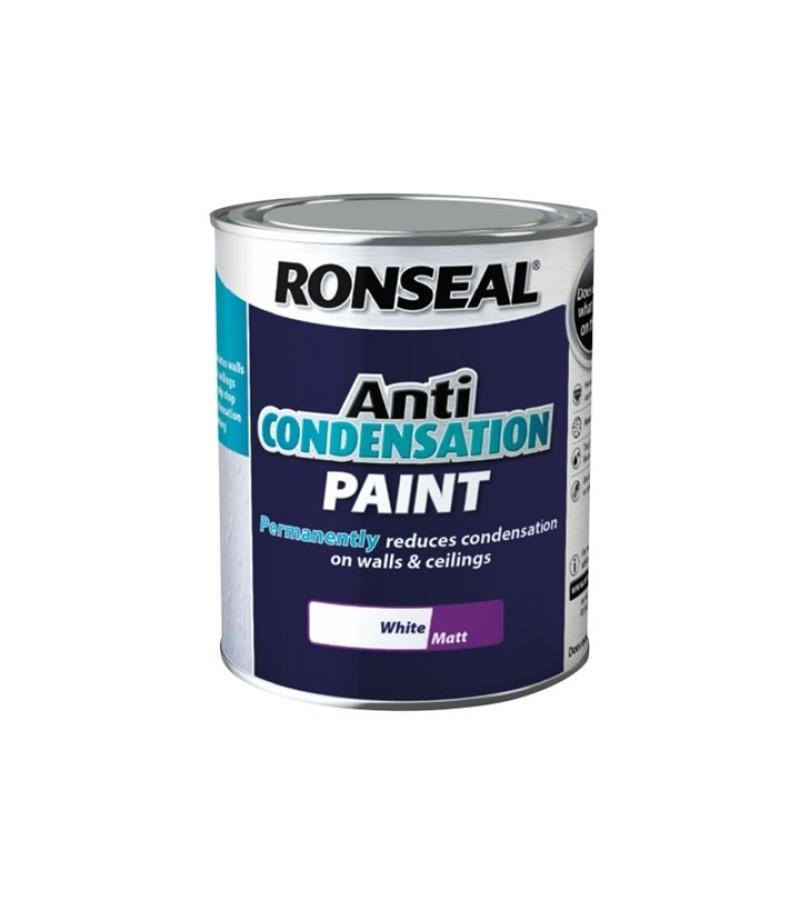 Ronseal Anti Condensation 750ml  White Matt
