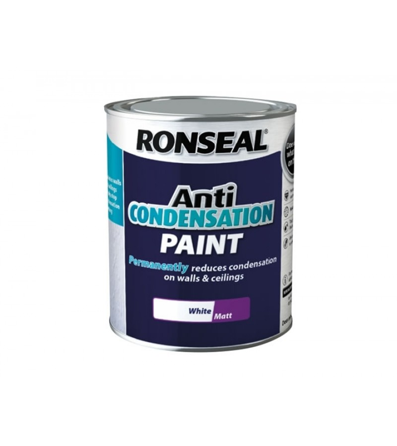 Ronseal Anti Condensation 2.5L  White Matt