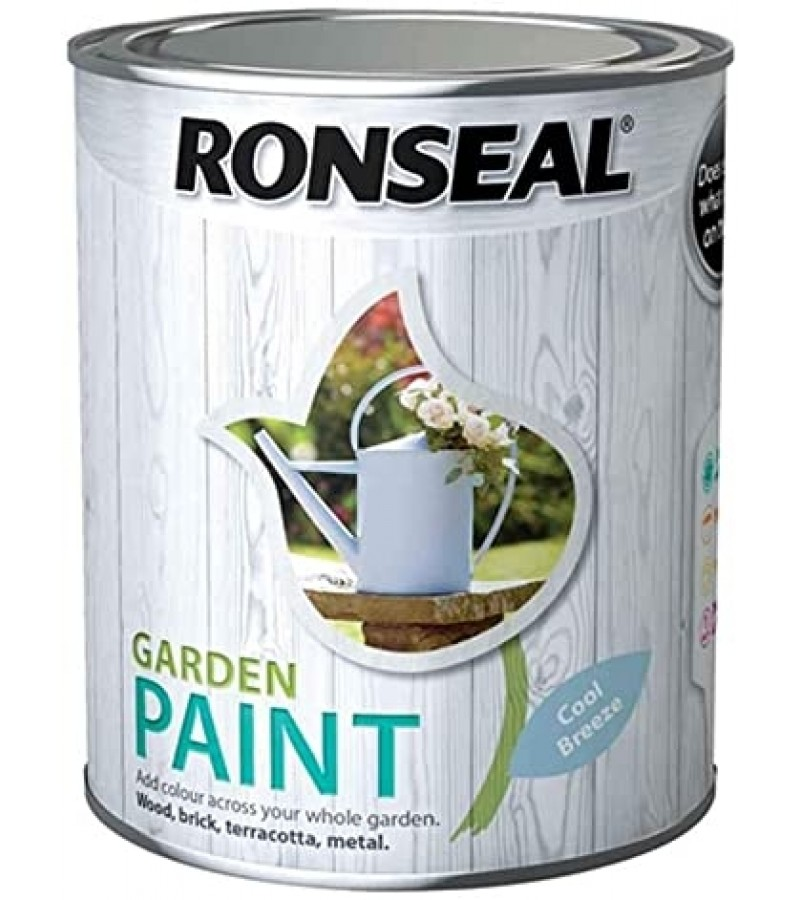 Ronseal Garden Paint 750ml Cool Breeze