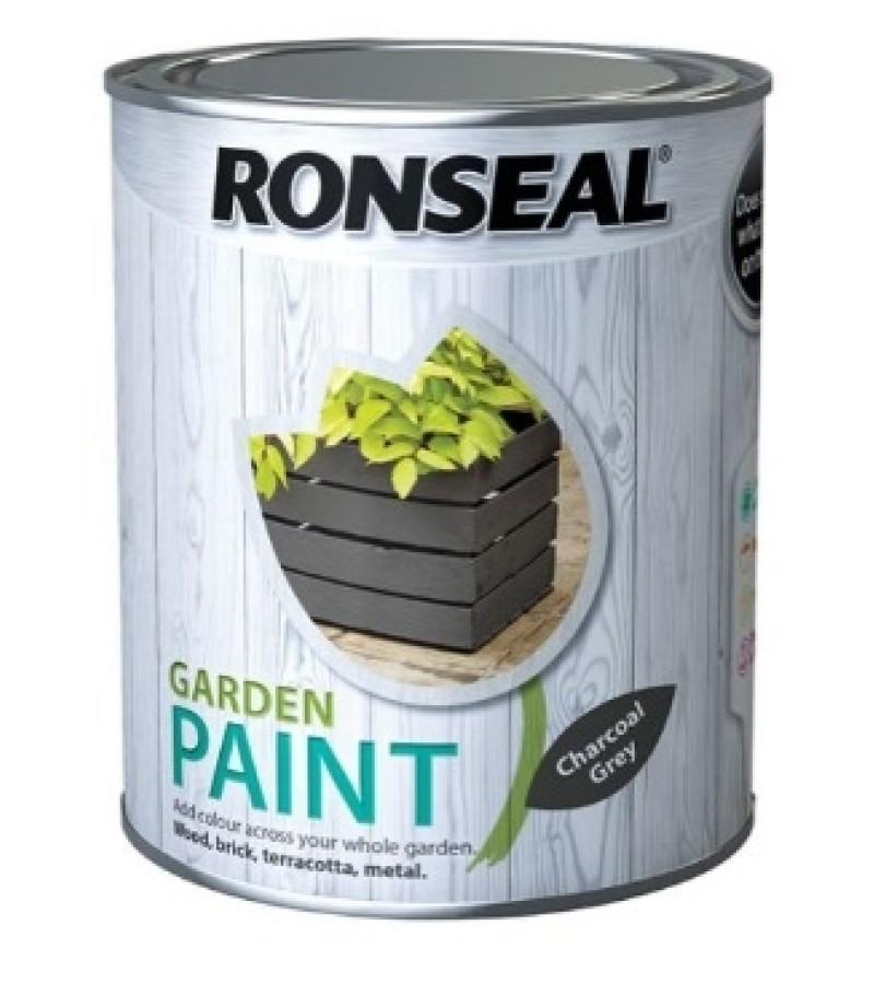 Ronseal Garden Furniture Paint 750ml Charcoal Grey