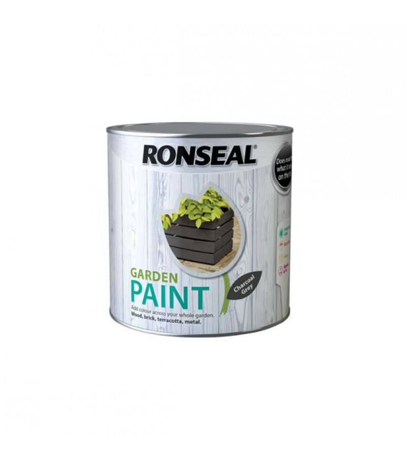 Ronseal Garden Furniture Paint 250ml Charcoal Grey