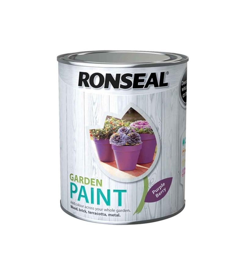 Ronseal Garden Paint 250ml Purple Berry
