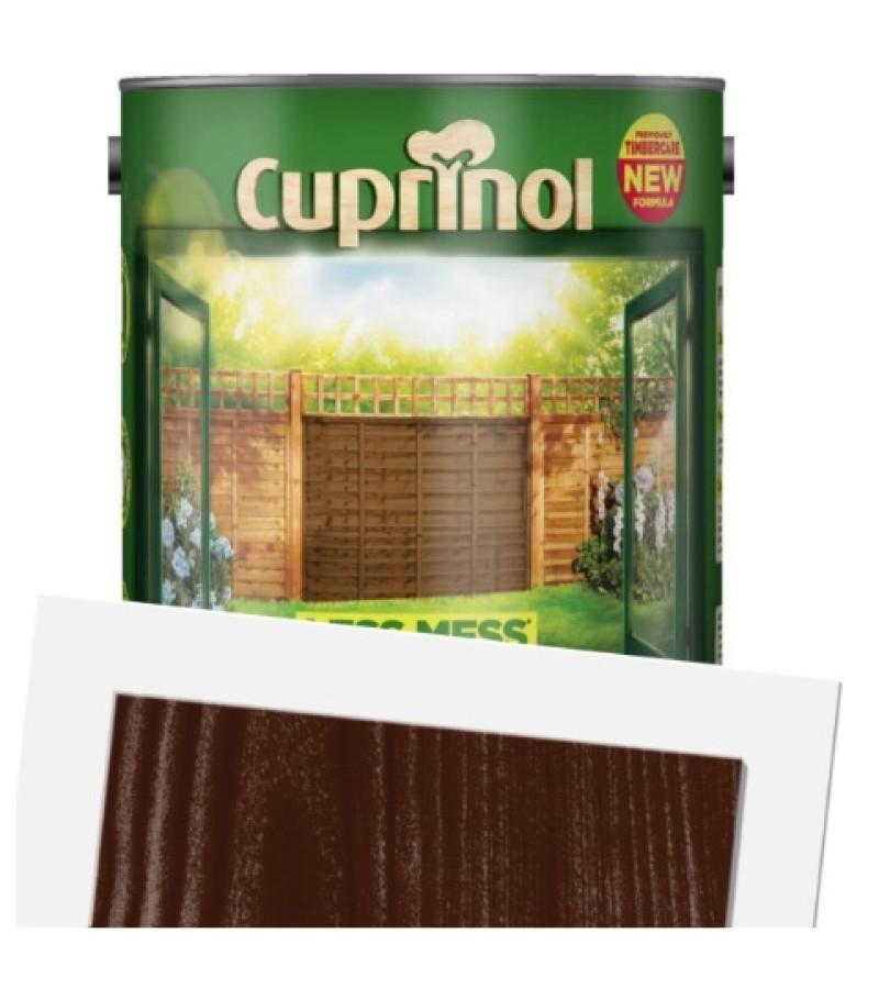 Cuprinol Less Mess Fence Care 6L Rustic Brown