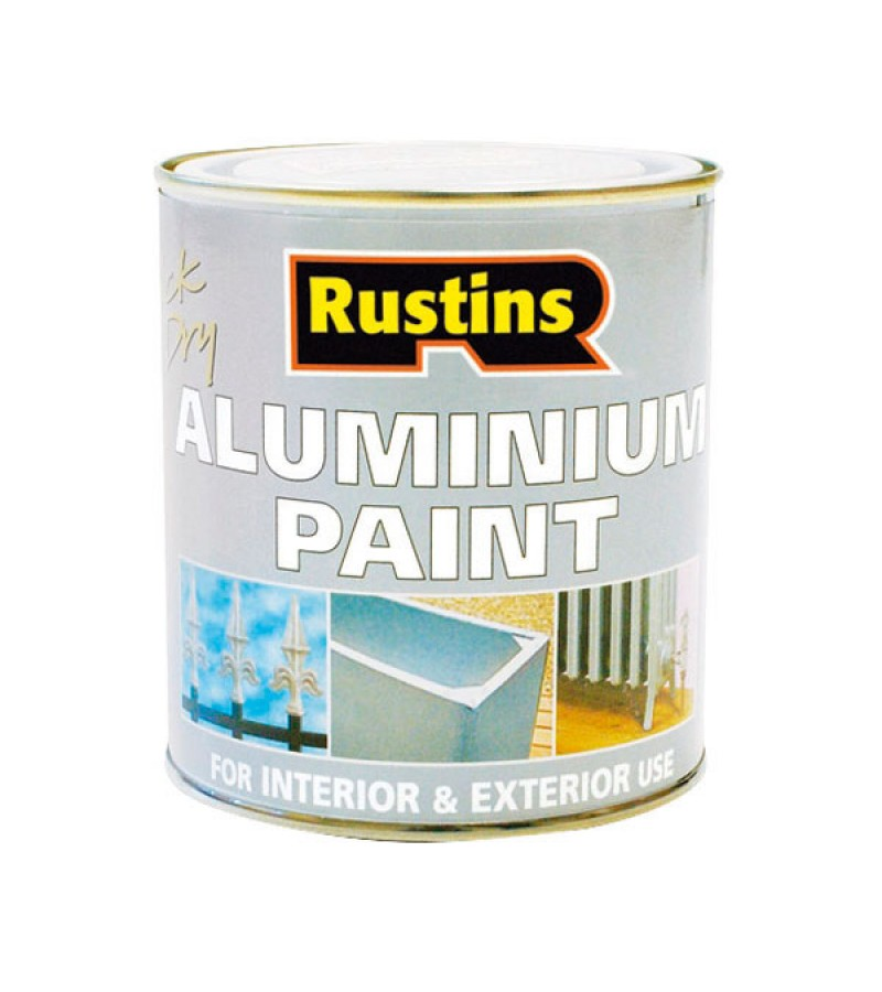 Rustins Aluminium Paint 250ml