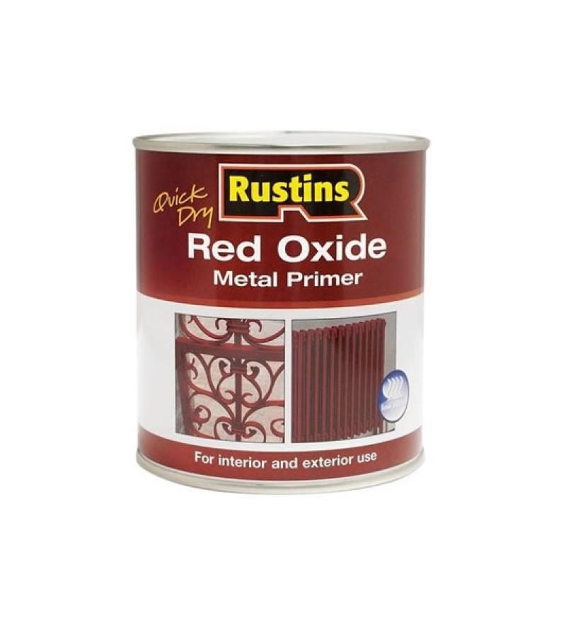 Rustins Red Oxide Metal Primer 1L