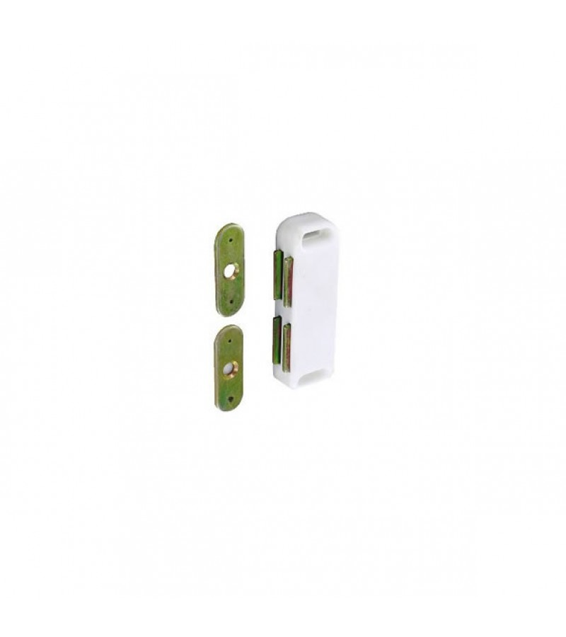 Securit S5435 Magnetic Catch White (2 Pack)