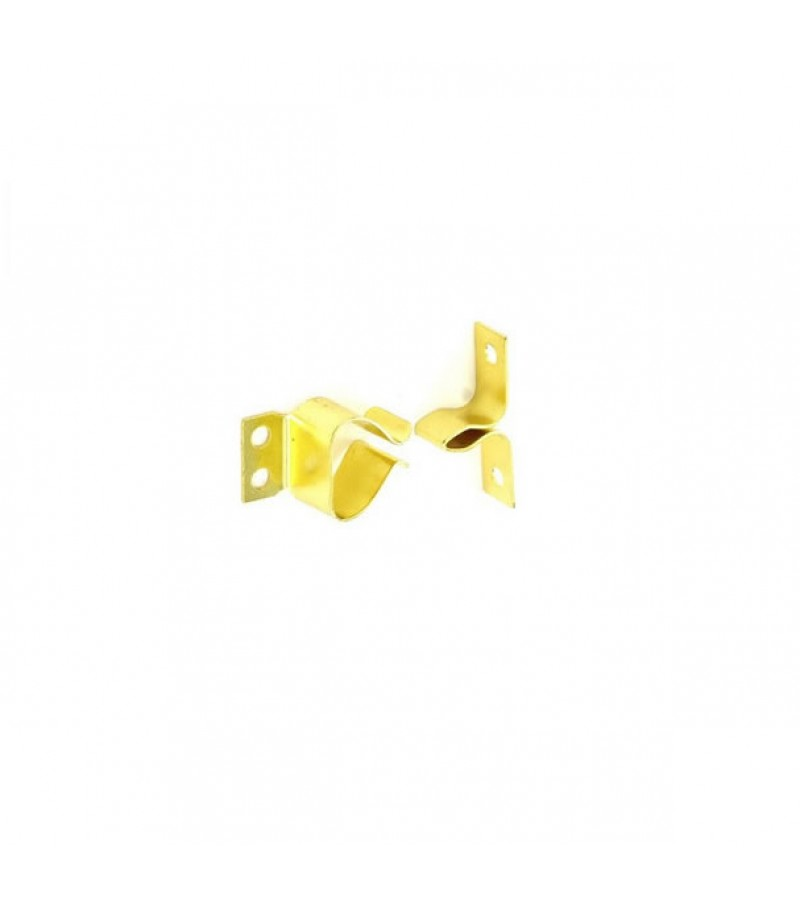 Securit S5444 Gripper Catches Brass Plated (2 Pack)