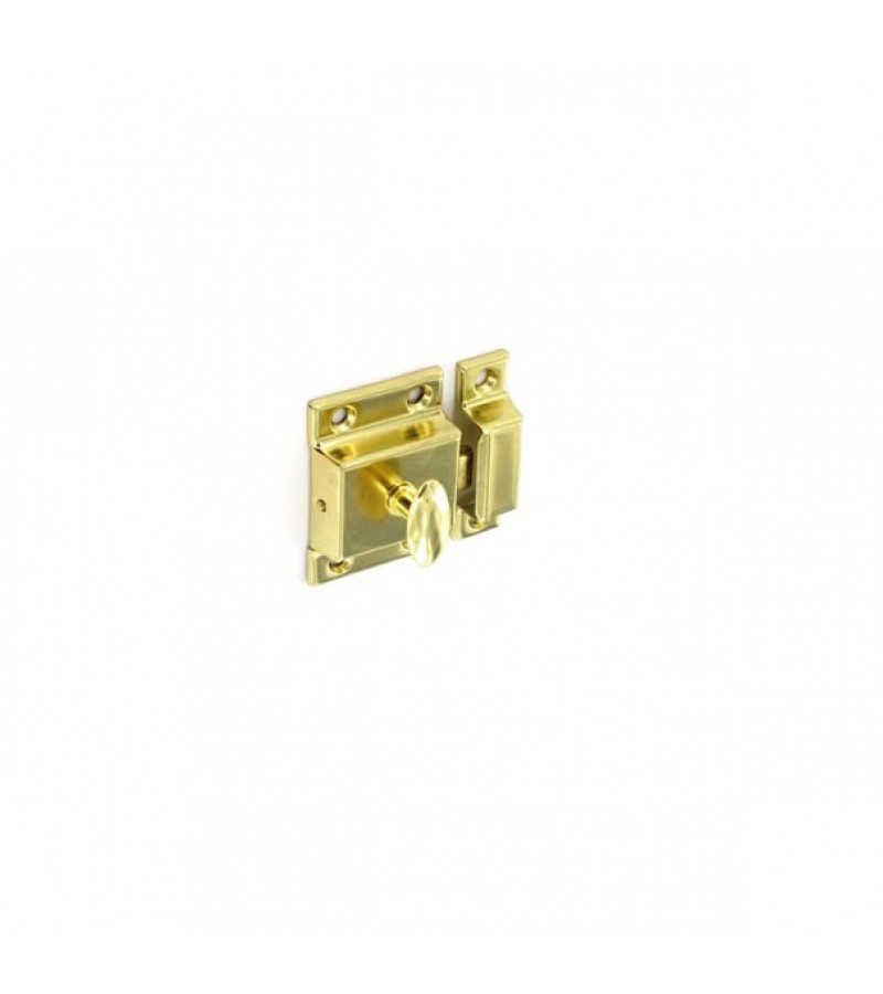 Securit S5454 Cupboard Turn Brass Plated