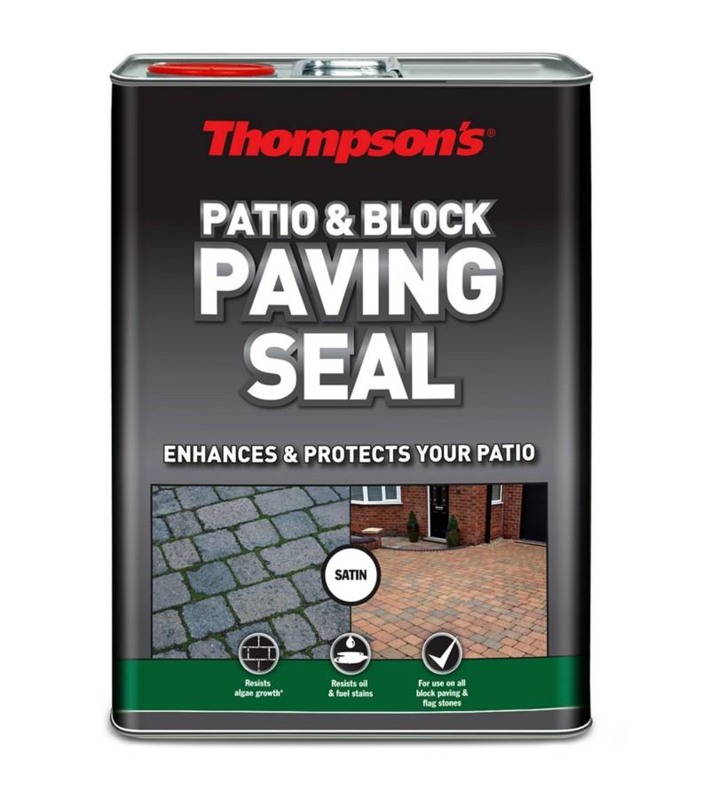 Thompsons Patio & Block Paving Seal 5L Satin