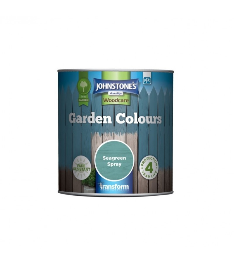 Johnstones Garden Colours Paint 1L Seaspray Green