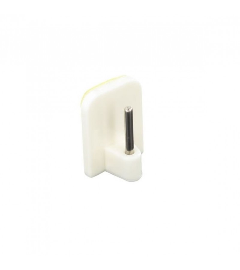 Securit S6418 Self Adhesive Curtain Rod Hook (4 Pack) White