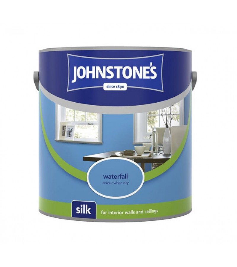 Johnstones Vinyl Emulsion Paint 2.5L Waterfall (Silk)