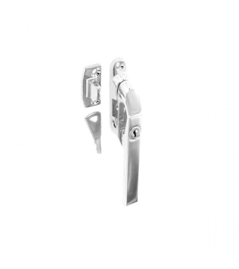 Securit S1075 125mm Locking Casement Fastener Chrome