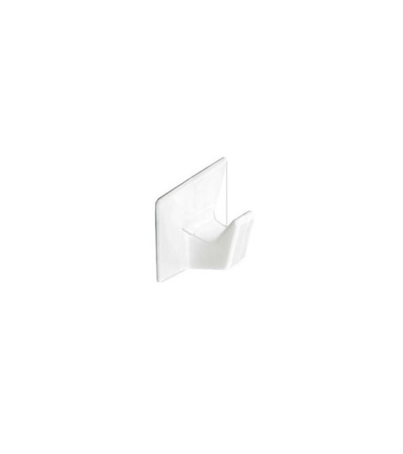 Securit S6352 Self Adhesive Hooks Medium White (3 Pack)