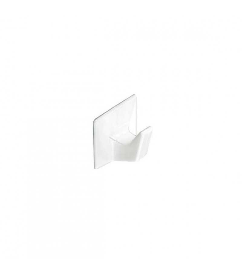 Securit S6351 Self Adhesive Hooks Small White (4 Pack)