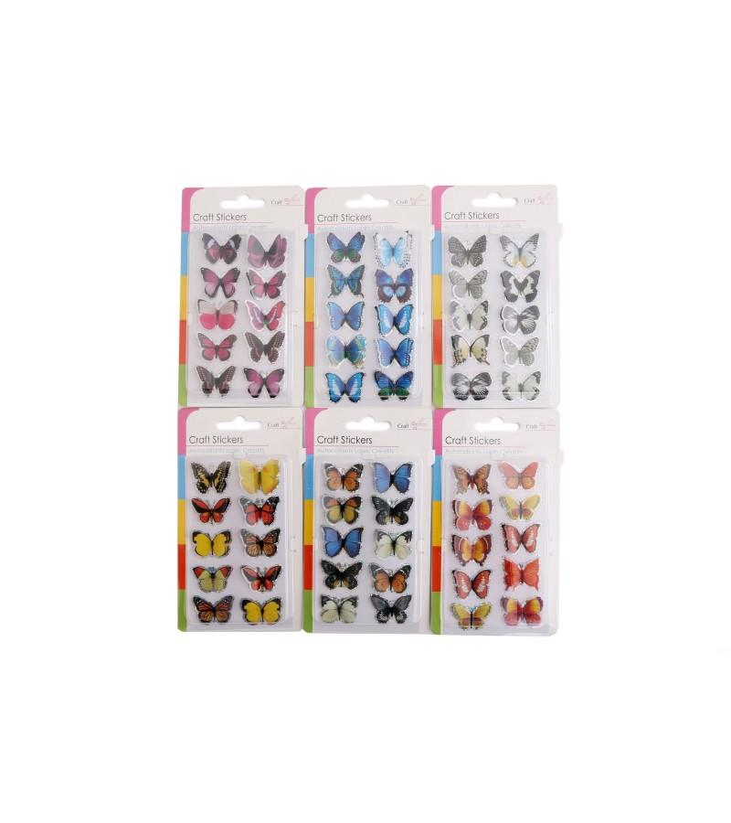 Craft Stickers - Butterflies