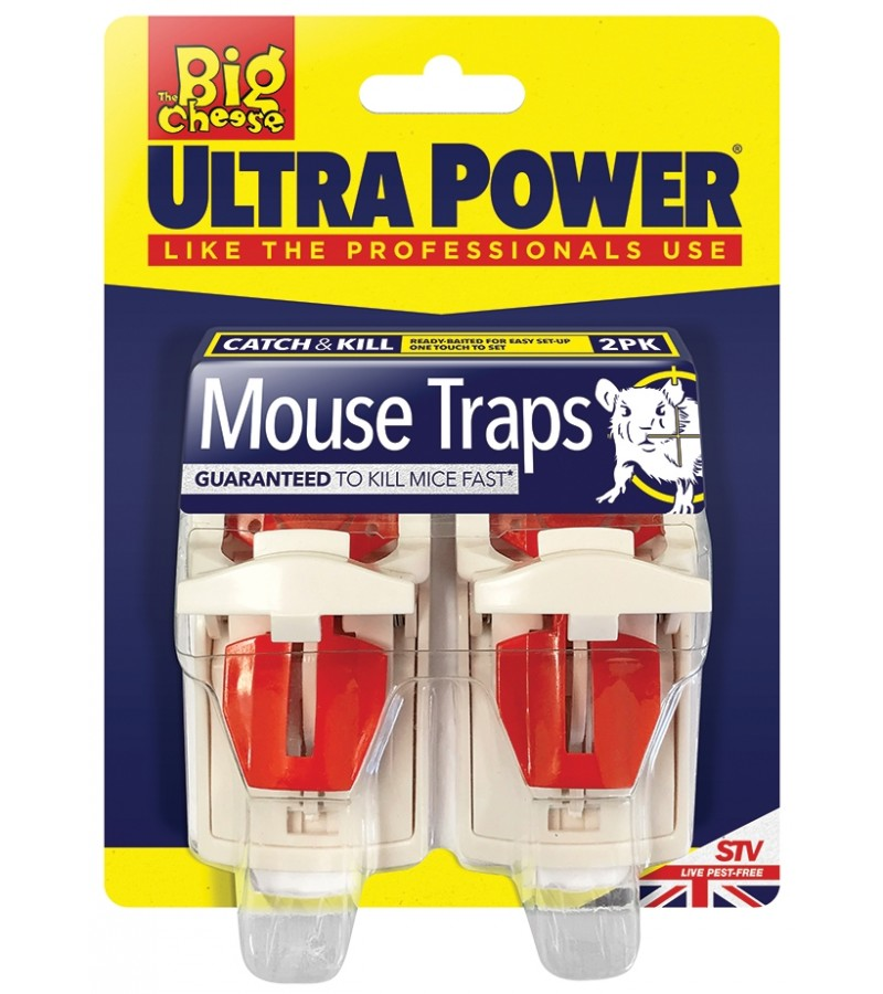 Ultra Power Mouse Traps STV148