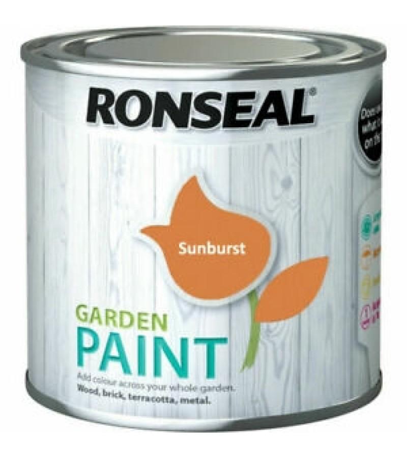 Ronseal Garden Paint 250ml Sunburst
