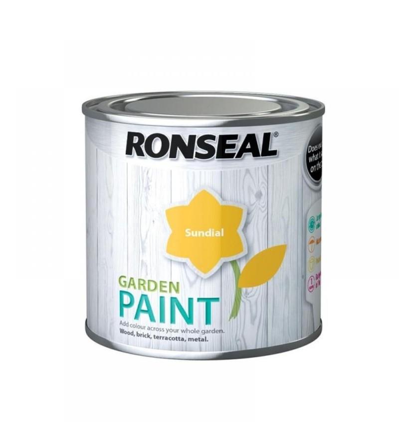 Ronseal Garden Paint 750ml Sundial