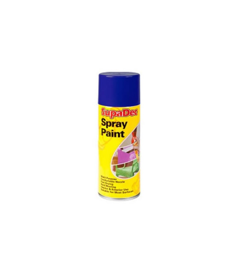 Supadec Spray Paint 400ml Blue Gloss