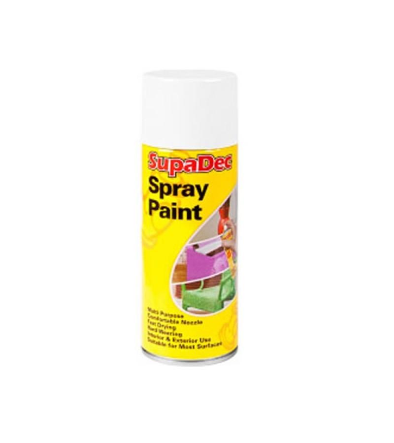 Supadec Spray Paint 400ml White Matt