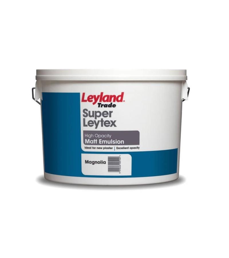 Leyland Super Leytex Emulsion Paint 10L Magnolia (Matt)