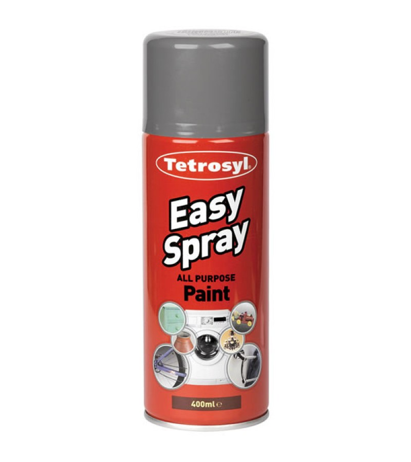 Tetrosyl Easy Spray Spray Paint 400ml Grey Primer