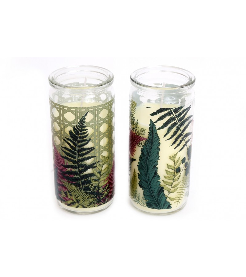 Fern Candle Tube