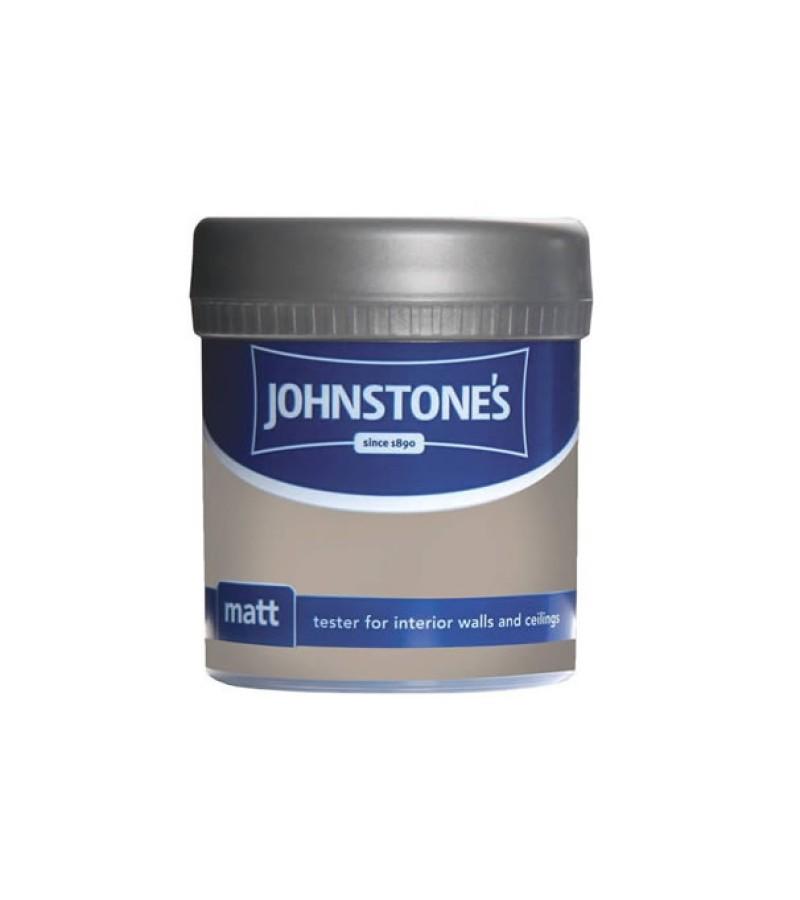 Johnstones Vinyl Emulsion Tester Pot 75ml Toasted Beige (Matt)