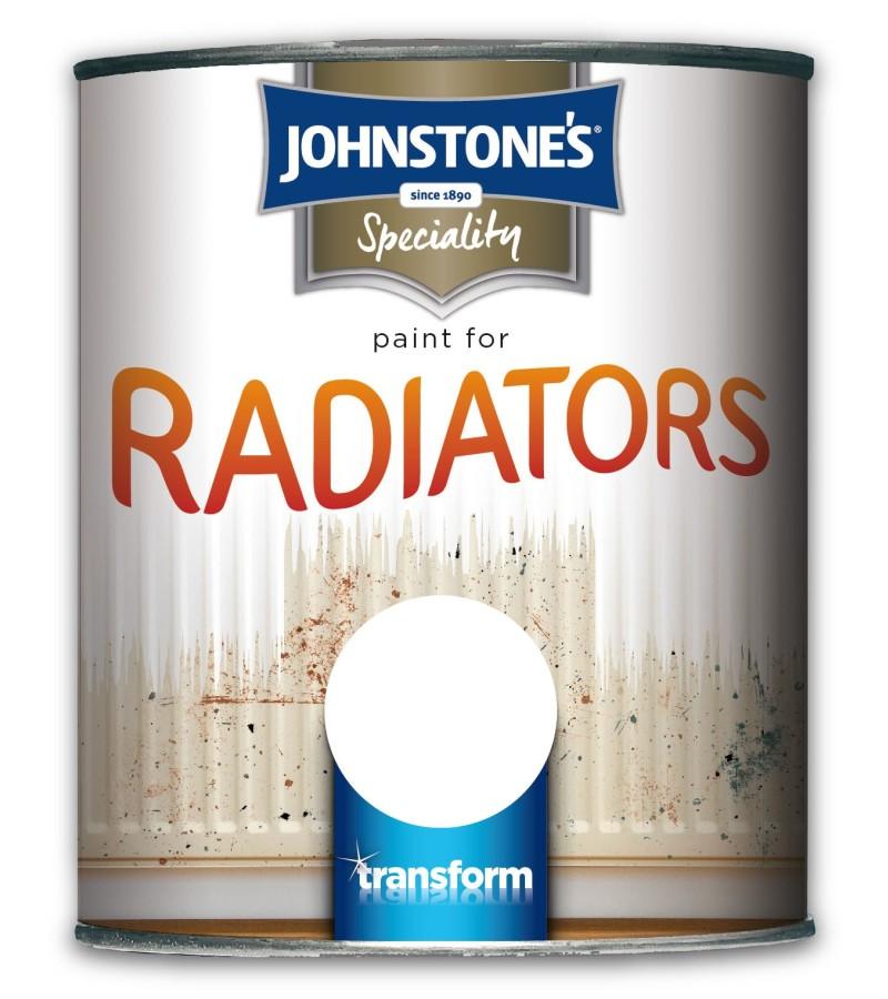 ohnstones Radiator Paint Satin White 250ml