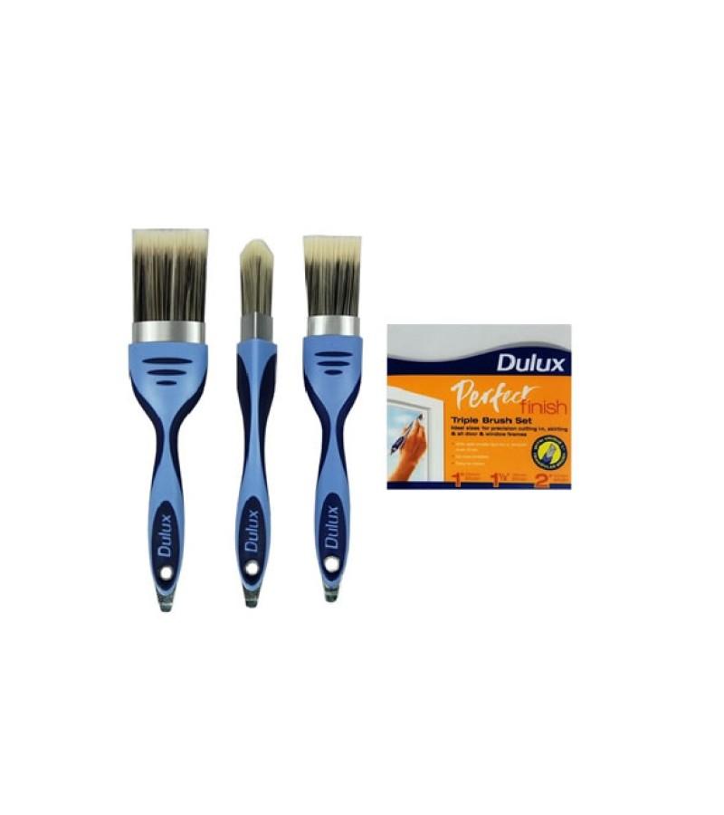 Dulux Perfect Finish Triple Brush Set