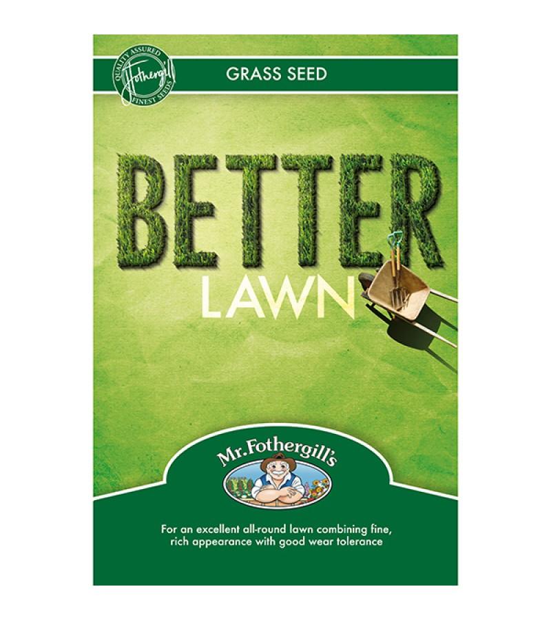 Mr Fothergill's Better Lawn Grass Seed 1.5KG